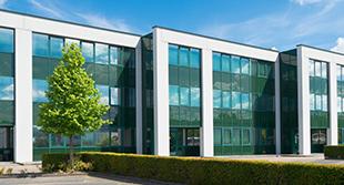 Sleek Office Building