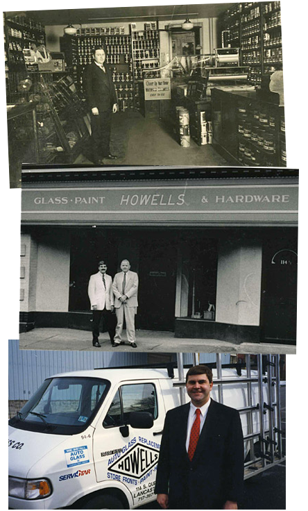 History of Howells Collage